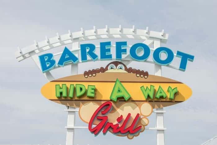 barefoot hide a way grill panama city beach fl